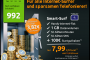 Allnet-Flat + 500MB Datenflat im Telekom Netz für nur 9,85 Euro / Monat!