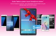 Aktion: Gratis Samsung Tablet zu jedem Telekom MagentaMobil Mobilfunkneuvertrag