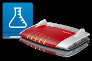 AVM startet neue Labor Version für sein Router Topmodell 7490